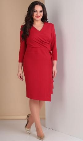 LIA2556 Sarkana kleita