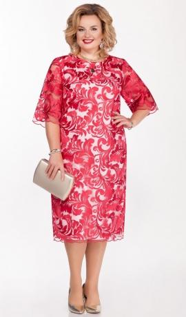LIA6244 Fuksijas krāsas svētku kleita