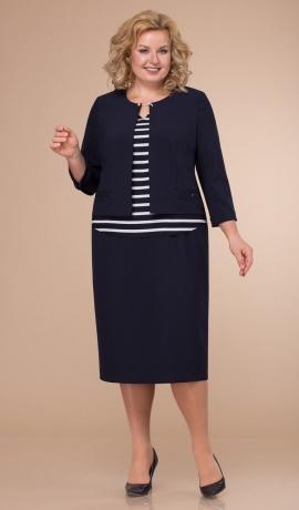 LIA6841 Kostīmu imitējoša kleita
