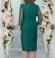 LIA4614 Zaļa kleita ar spīdumu