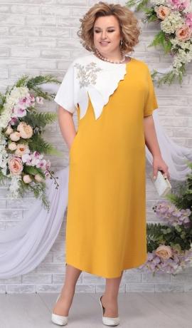 3-1759 Sinepju krāsas kleita