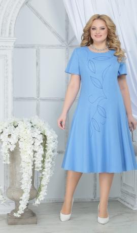 3-1756 Zila lina kleita