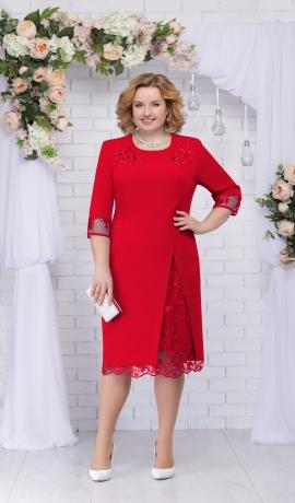 LIA2634 Sarkana kleita