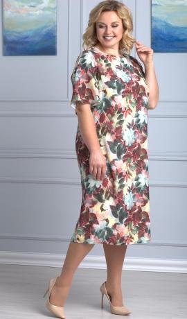 LIA3788 Ziedu raksta kleita