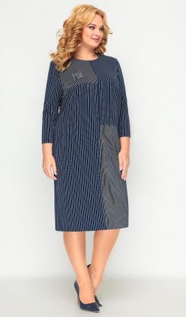 LIA7592 Svītru raksta kleita