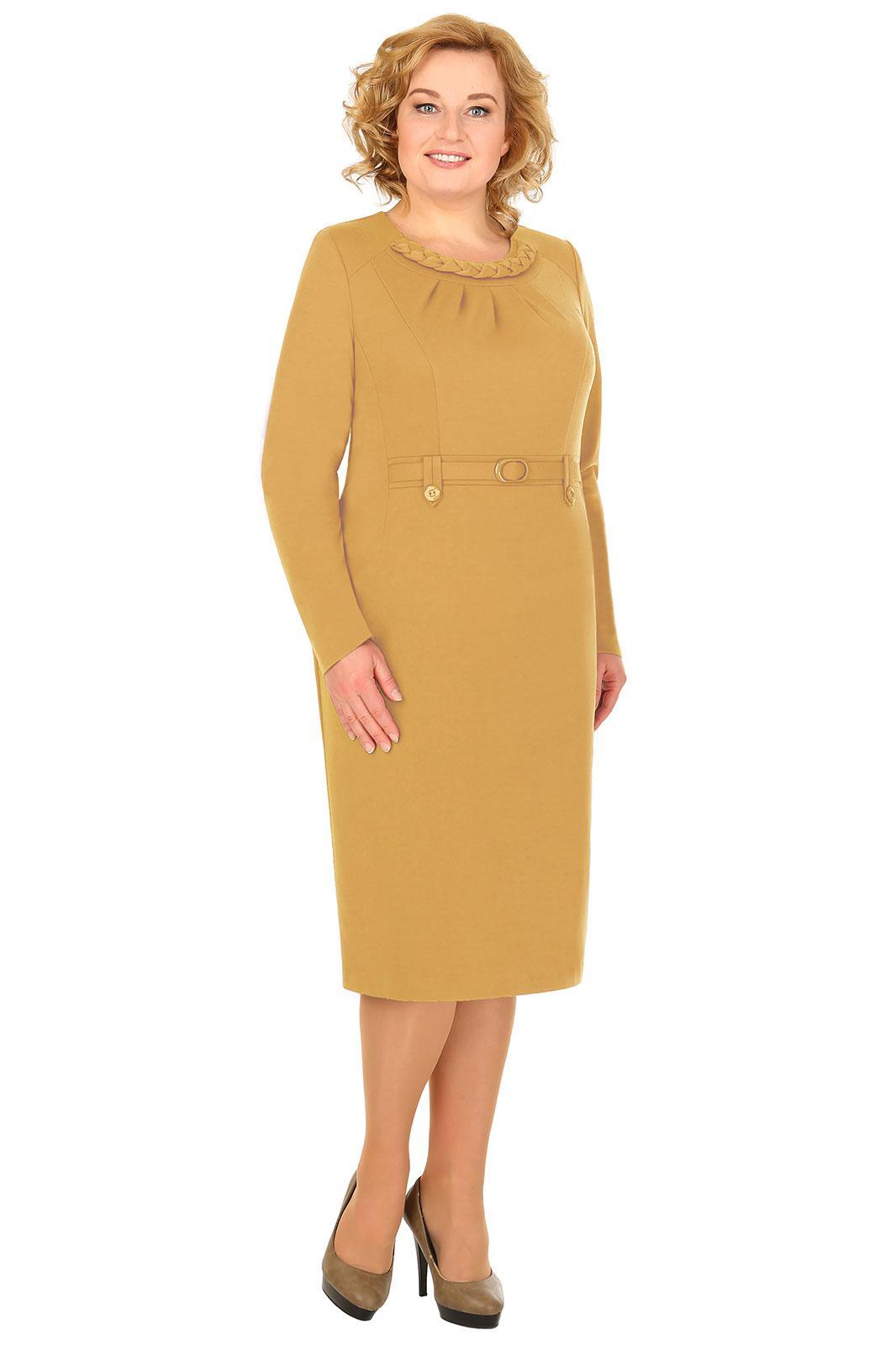LIA3819 Smilškrāsas kleita