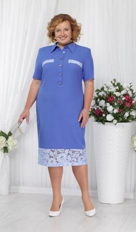 3-0835 Gaiši zila kleita