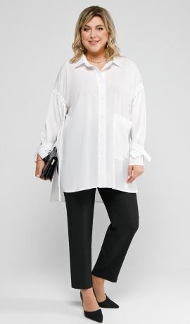 LIA7603 Divdaļīgs bikškostīms ar kreklu