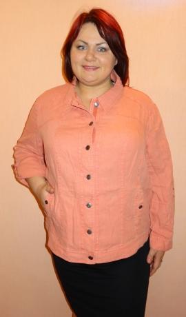 6-0239 Maigi rozā lina jaka