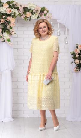 LIA2973 Dzeltena kleita