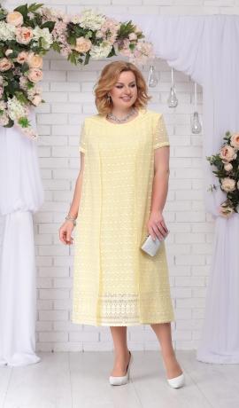 LIA2970 Dzeltena kleita