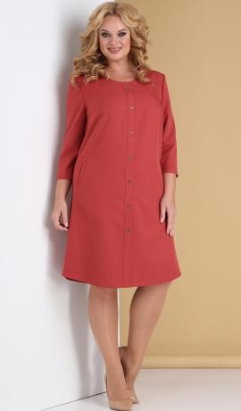 LIA7904 Koraļkrāsas kleita