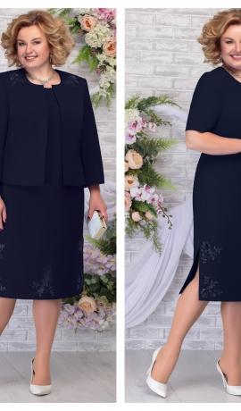 LIA5948 Eleganta kleita ar žaketi
