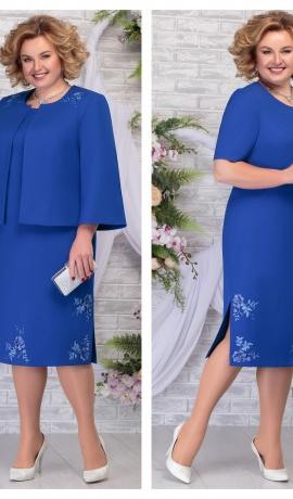 LIA5950 Eleganta kleita ar žaketi