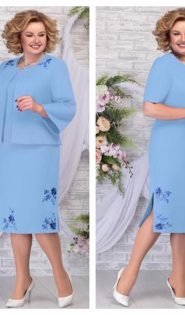 LIA5949 Eleganta kleita ar žaketi