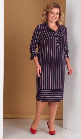 LIA5231 Svītru raksta kleita