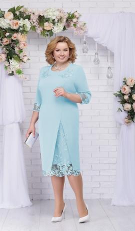 LIA2636 Zila kleita