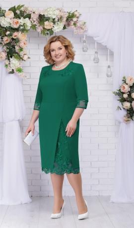 LIA2638 Zaļa kleita