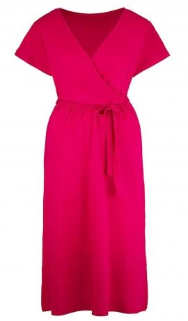3-0448 Rozā maksī kleita