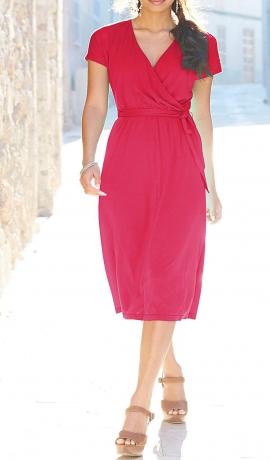 3-0447 Rozā vasaras kleita