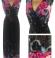 3-0579 Maxi kleita ar ziedu rakstu