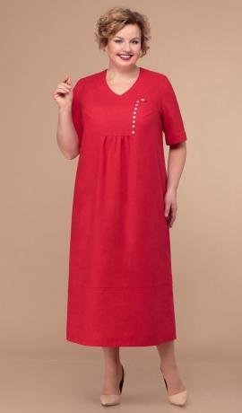 LIA5671 Sarkana kleita