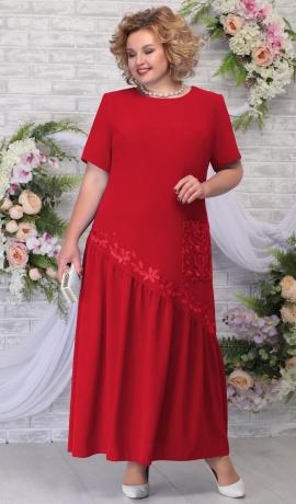 LIA5959 Sarkana gara kleita