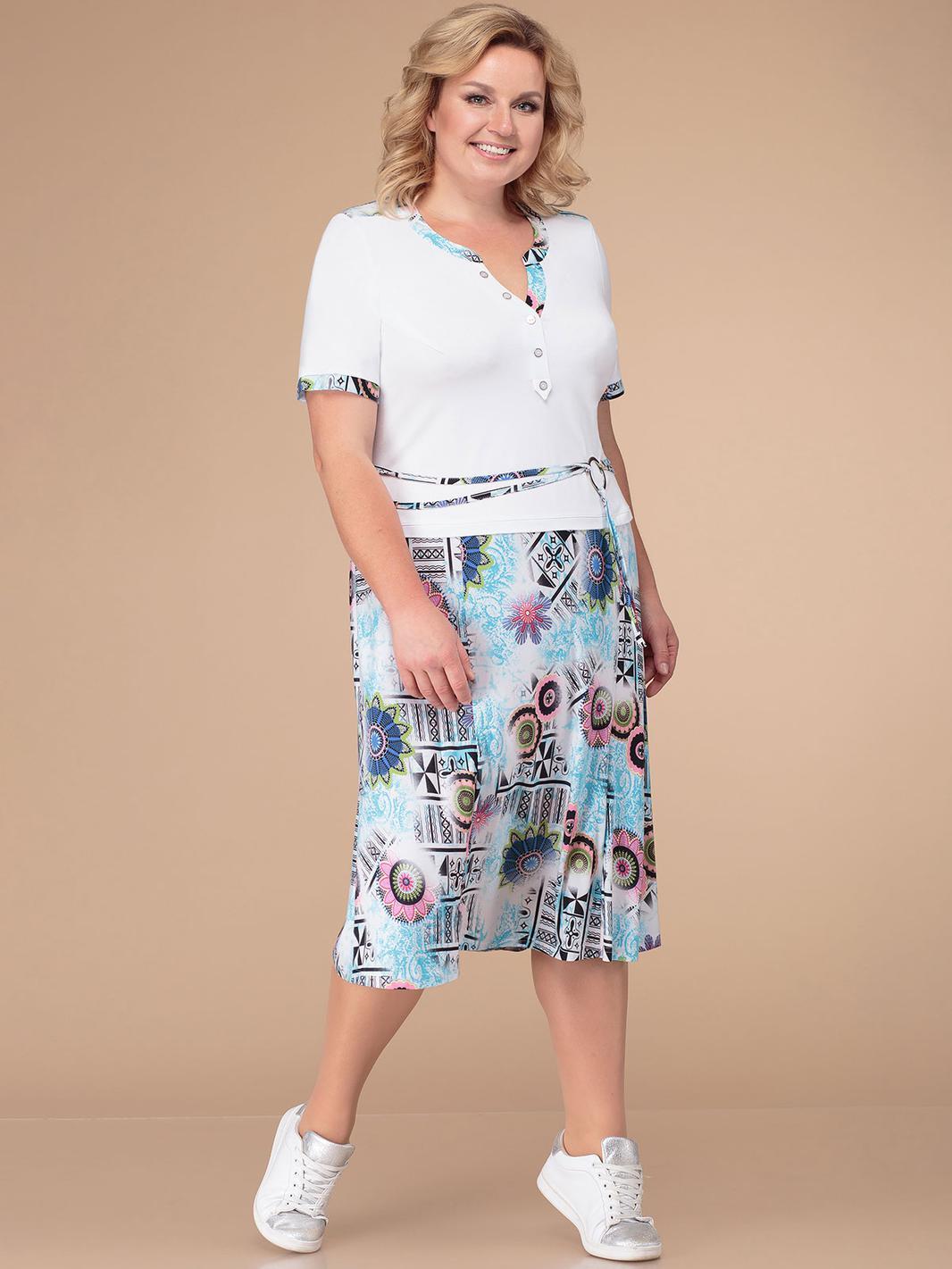 LIA3341 Kostīmu imitējoša kleita