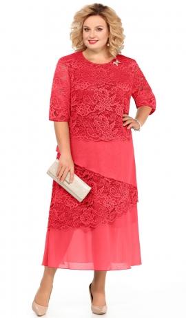 LIA3559 Koraļkrāsas kleita