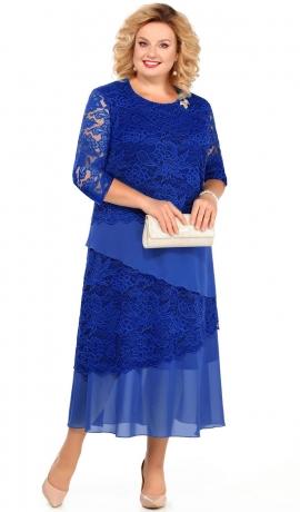 LIA3562 Zilas krāsas kleita