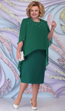LIA6195 Zaļa kleita