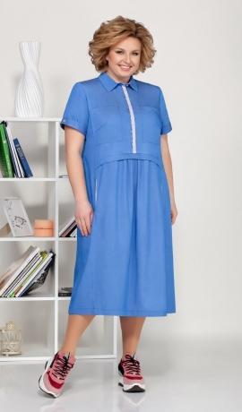 LIA5692 zila kleita