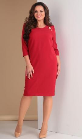 LIA1613 Sarkana eleganta kleita