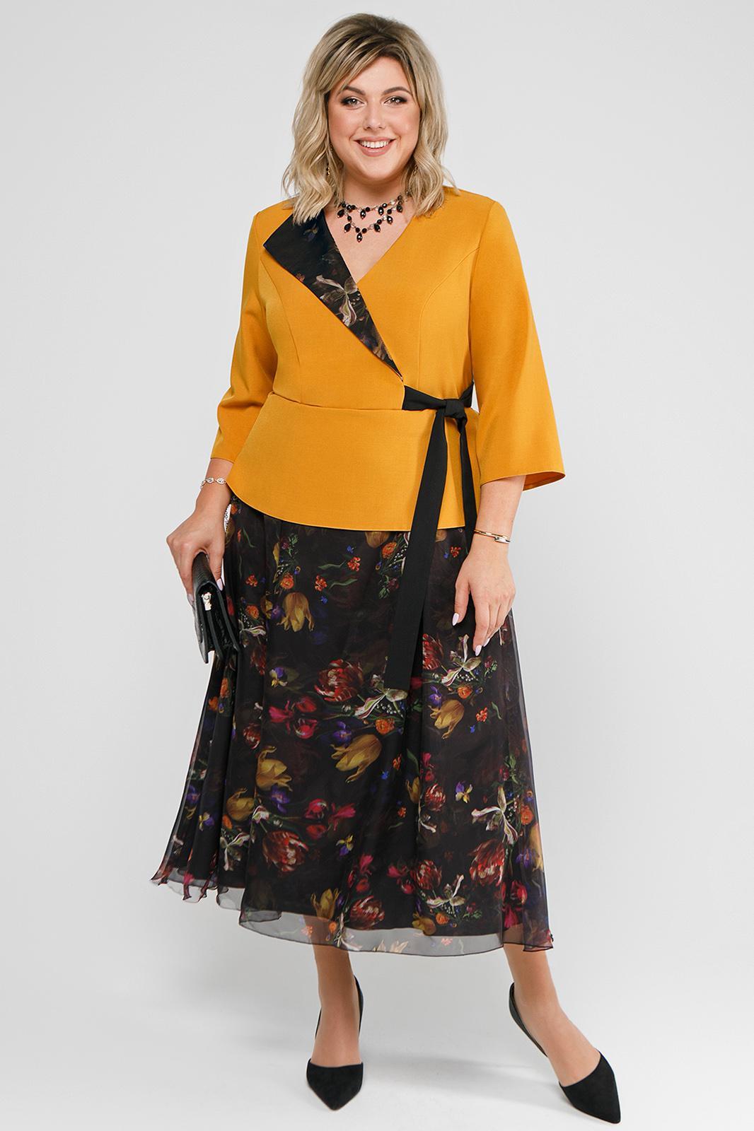 LIA7644 Kostīmu imitējoša kleita