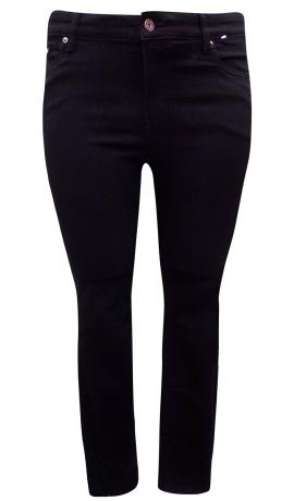 5-0406 Melni pieguļoši džinsi.