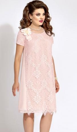 3-1279 Gaiši rozā kleita