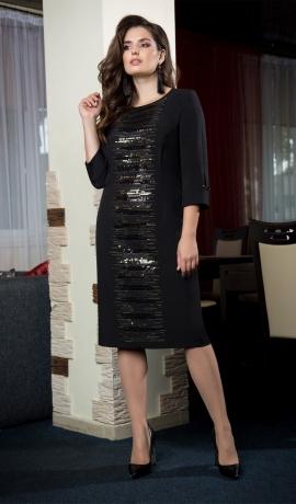LIA4523 Melna kleita