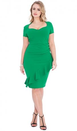 3-0548 Zaļa kleita