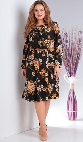 LIA4981 Ziedu raksta kleita