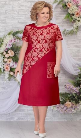 LIA5982 Sarkana kleita