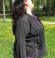 6-0301 Melna  jaciņa ar mežģīņu dekorējumu