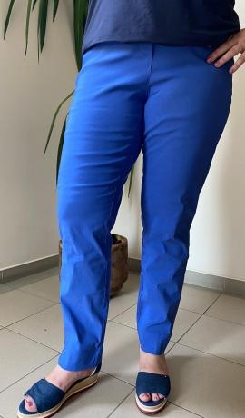 5-0487 Zilas elastīgas bikses