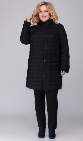 LIA6502 Melna virsjaka ar kapuci