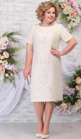 LIA5814 Bēša kleita