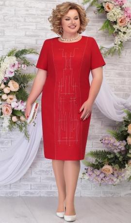 LIA5815 Sarkana kleita