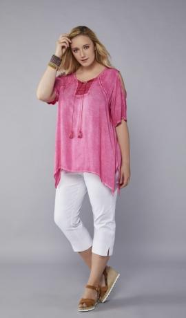1-1067 Rozā krekls