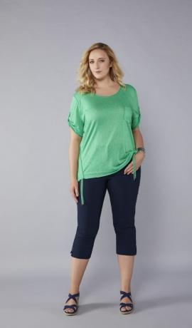 1-1058 Koši zaļš krekls ar kabatu.