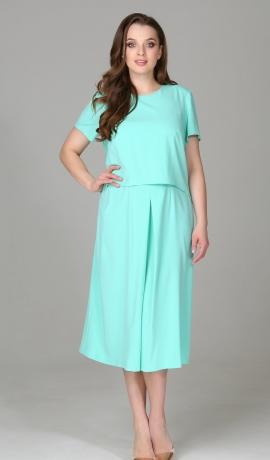 3-0596 Gaiši zila kleita
