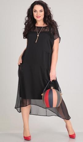 LIA1594 Melna kleita