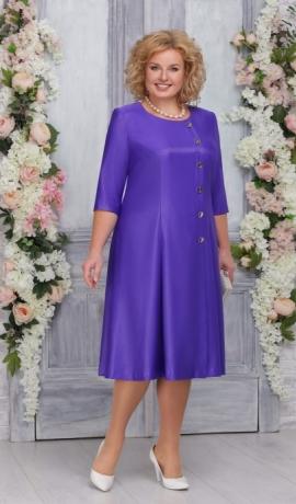 3-1467 Zili violeta kleita